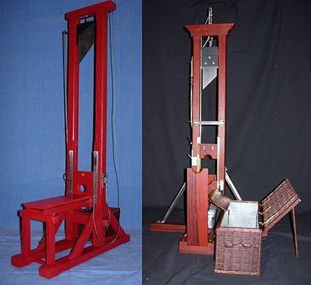 French Revolution guillotines