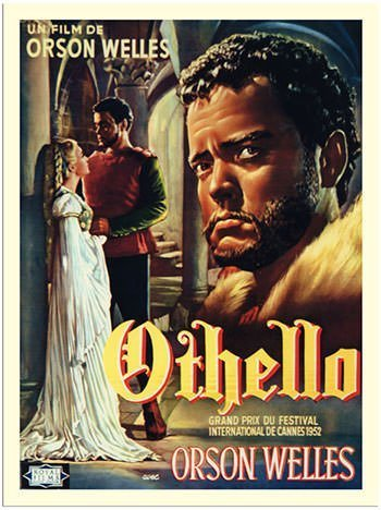 Othello by Orson Welles - Poster