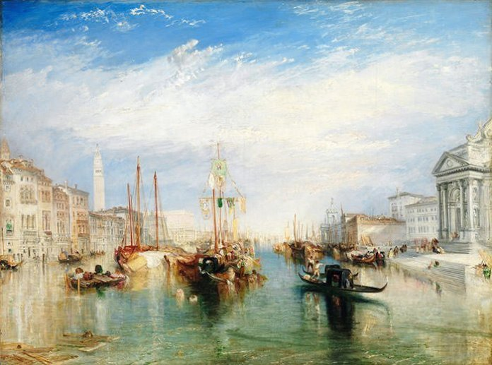 Venice, from the Porch of Madonna della Salute (1835) - J.M.W. Turner