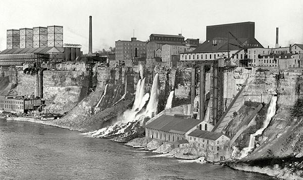 Niagara Falls Power Plant