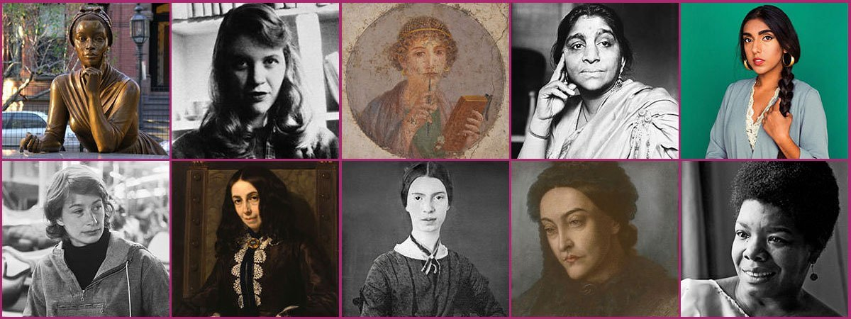 Famous Female Poets Featured