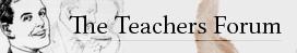 online teachers forum