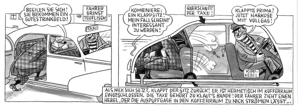 """M. Schmidt: Nick Knatterton, """"Der indische Diamantenkoffer"""" via ubka.uni-karlsruhe.de"""