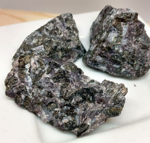 indigo gabbro rough stone