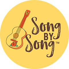 Song by Song™ logo with ukulele