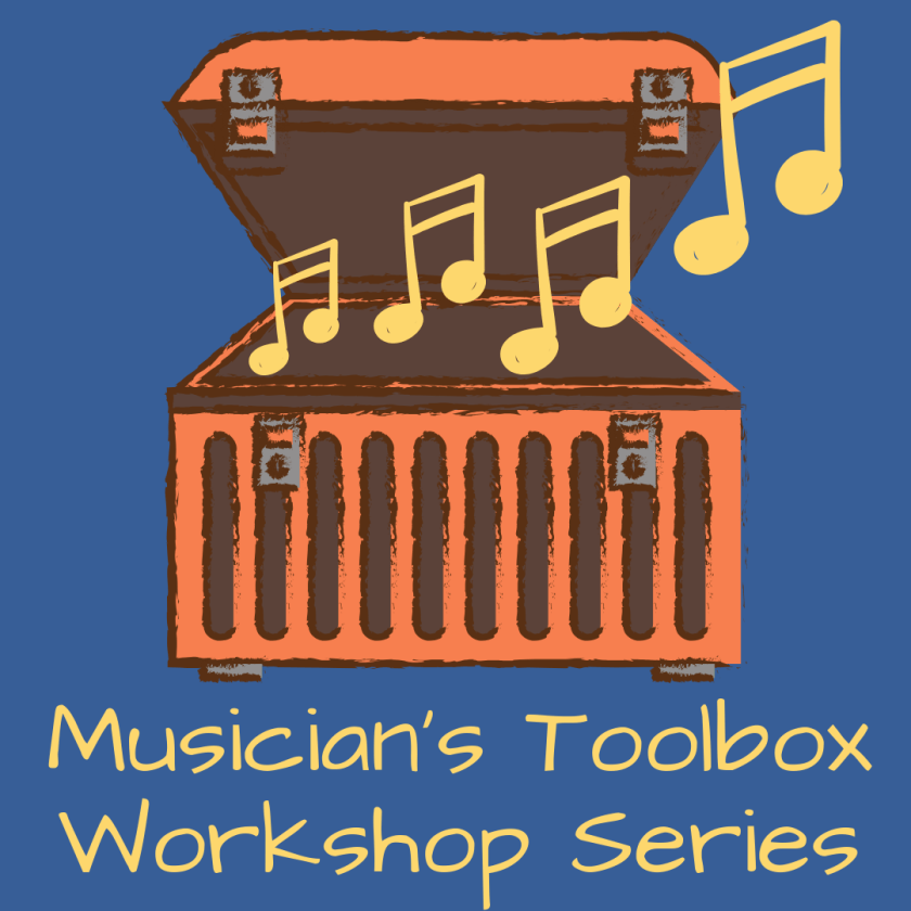 Musician's Toolbox Workshop Series graphic
