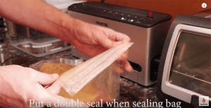 double seal bag