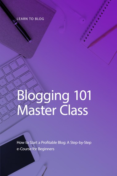Start a blog the right way! Enroll in our FREE Blogging 101 Master Class today and start earning income blogging in no time. #blog #bloggers