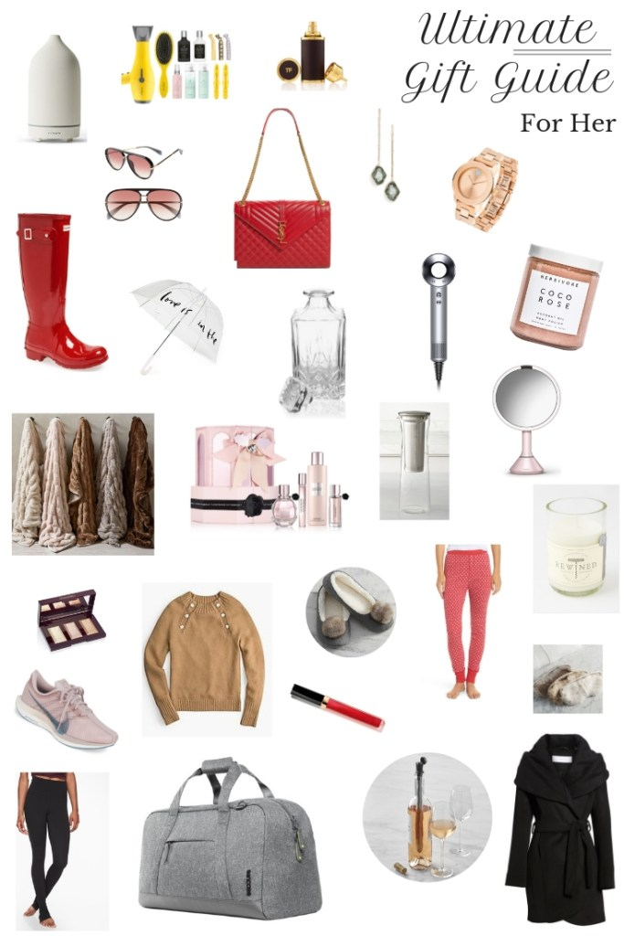 This Ultimate Women's Gift Guide makes shopping for all the women in your life simple! Get the guide and start shopping now. #giftguide #giftguideforher #giftguidewomen #giftguide2019