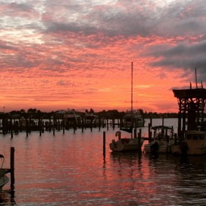 Stuart, Florida sunset