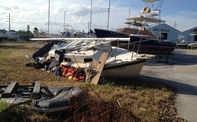 Things have been hectic….a glimpse of Matthew damage