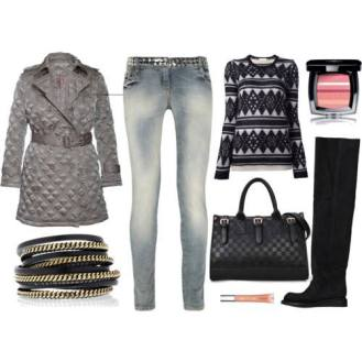 Anchas, con jean y sweater, para un look informal.
