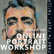 Interaktiver Online-Portrait-Workshop