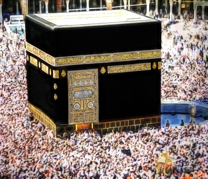 History of the Kaabah in islam