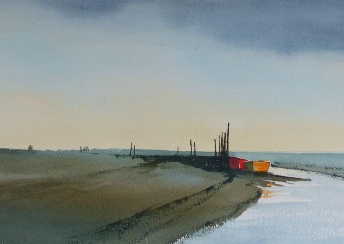Red Boat at Morston Norfolk