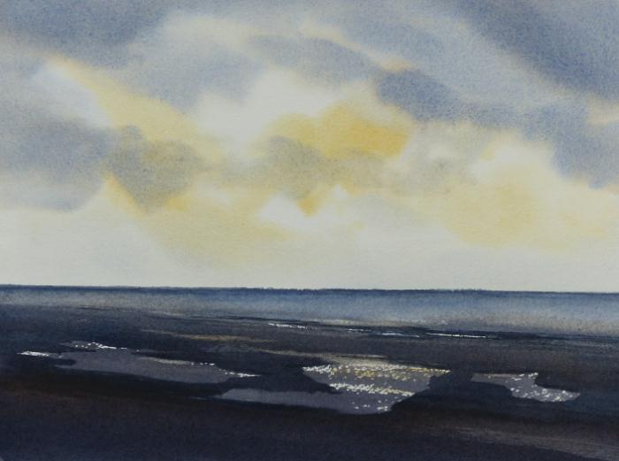 Dawn across the Wash, Norfolk