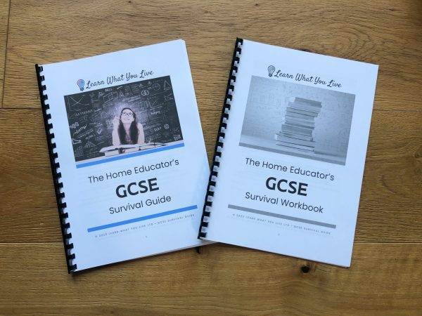 The GCSE survival guide and toolkit, printed out.