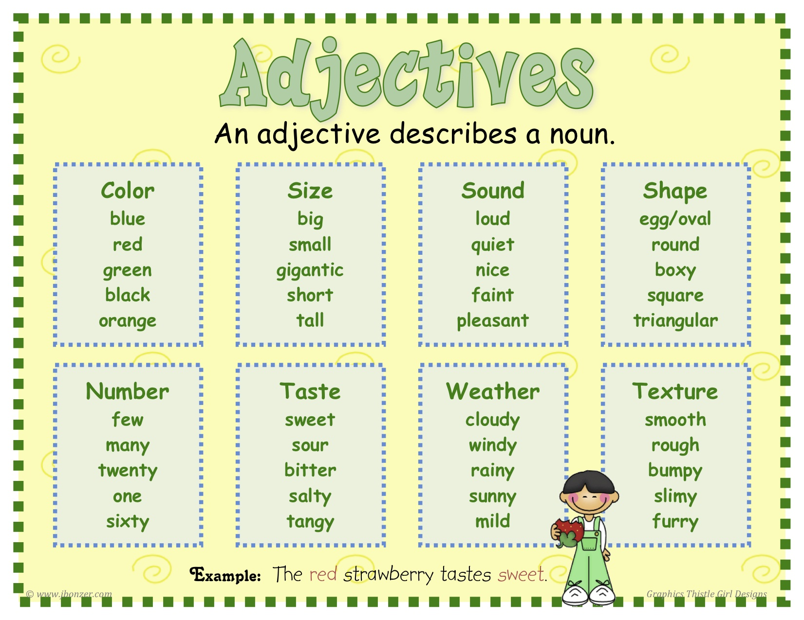 Nouns Adjectives And Verbs For Young Children Parents Learn