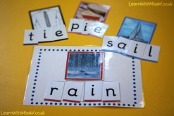 Supported phonics game