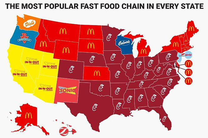 Fast Food Chain Names