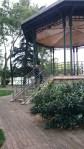Schöner Pavillon in einem Park
