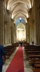 Raum des Gottesdienstes in der neuen Kathedrale Salamanca