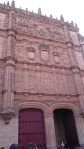 ganze Fassade der Universität Salamanca