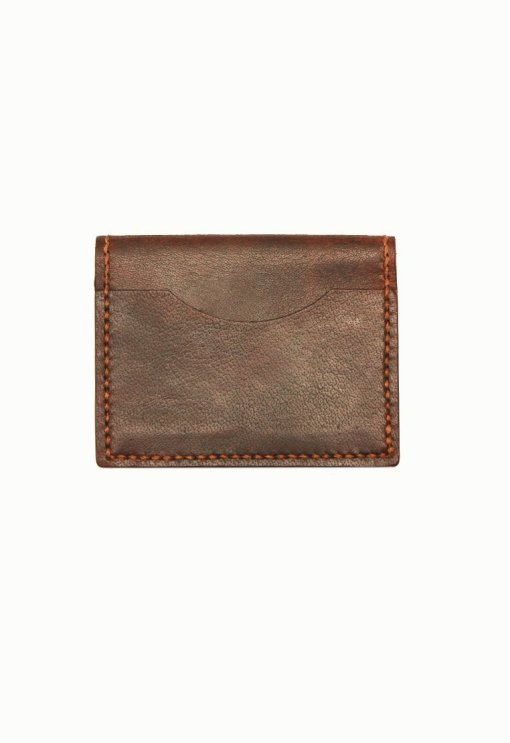 Leather.PH Travel Cardholder - Brown