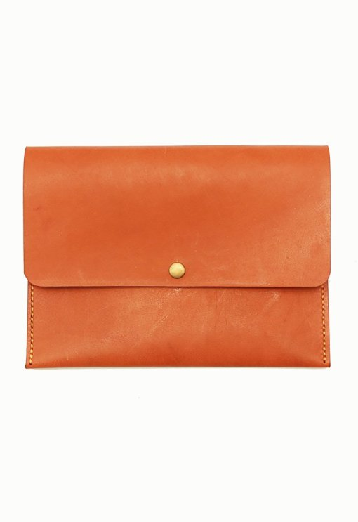 Leather.PH Travel Clutch - Tan