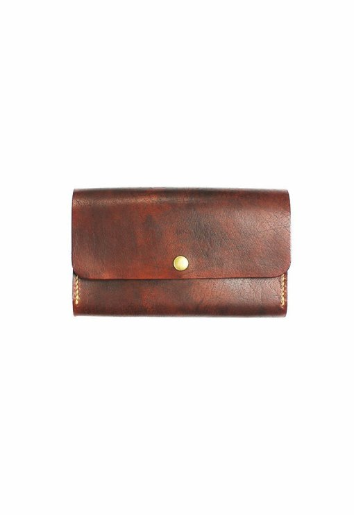 Leather.PH Phone Clutch - Brown