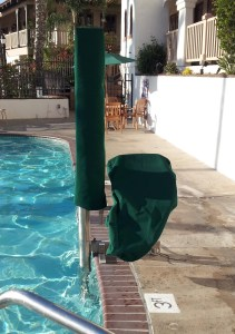 Pool lift cover