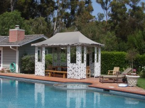 Custom Gazebo Awning