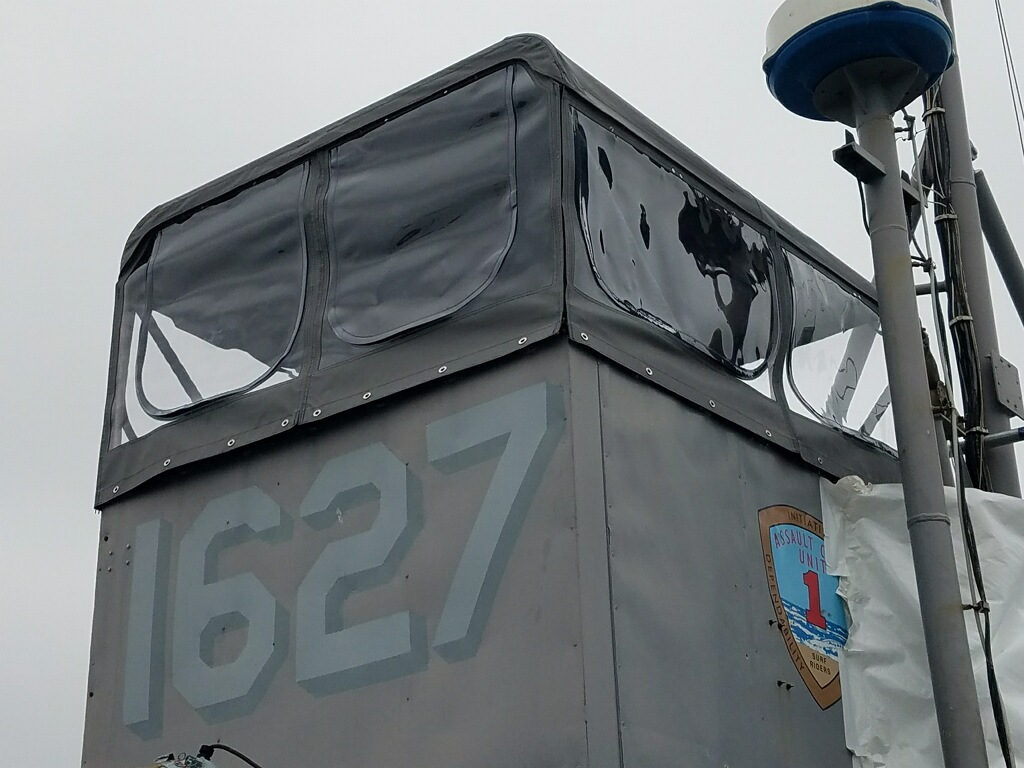 enclosure for LCU helm station