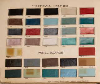 1960 OAIT Pg 22 Artificial Leather-Panel Board