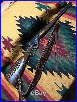 Leather Rifle Sling Custom Leather Sling And Wrap Combo