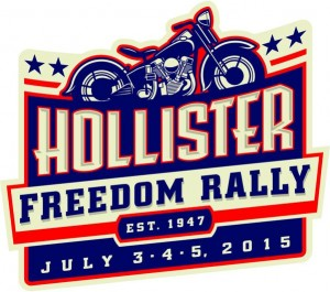 Hollister Freedom Rally Logo