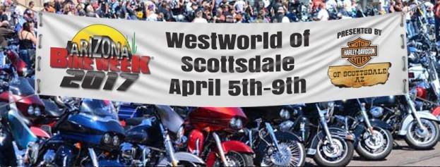 Leather Headquarters hitting Arizona Bike Week, April 5th-9th, 2017