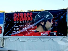 Strugis 2017 - Leather Headquarters Badass Helmets