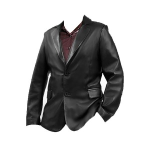 Bro Black- Men's Black Leather Jacket