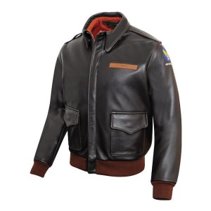 Burgundy Coffee Brown Bomber Jacket for Men