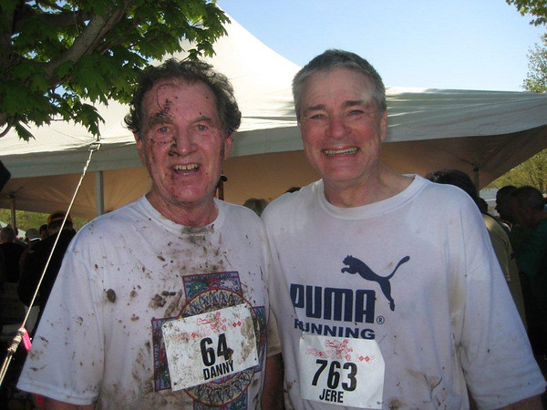Danny Martin and Jere Hochman in 2011 post race - Photo by Judy Godino