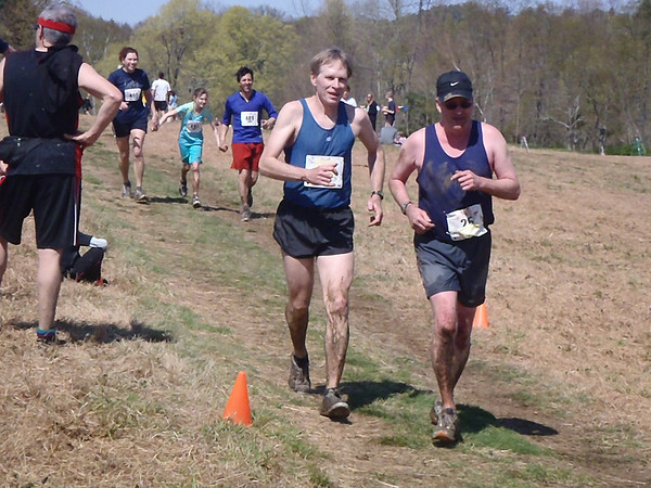Joe Stanley and Rick Hubbell finish their 25th Loop in 2011 - Photo by David Gordon