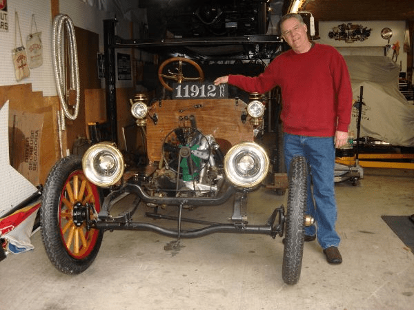 """Now that I have this great plate, we're almost ready for our 1912 Model 34 Buick Roadster's 100th anniversary debut! Thanks again, Steve. We love it!"" -- Mark Shaw"