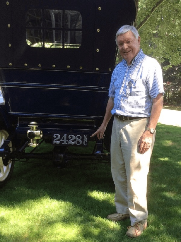 Fred Harley and his 1911 Buick