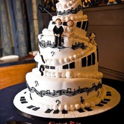 Music Theme Wedding Cakes Home
