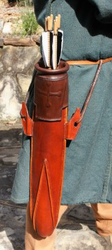 Hedeby quiver, front view