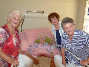 With Jenice, Fay & Marg