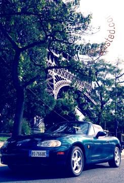Miata in Paris