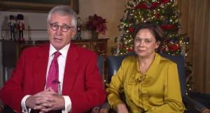 Hagel Christmas 2014