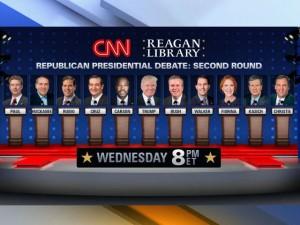 2nd GOP debate 2015